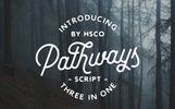 Pathways | 4 Styles + Bonuses Font
