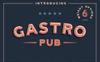 "Template Font #73243 ""Gastro Pub - Type Family"" Screenshot grande"