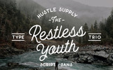 The Restless Youth - Bundle Font