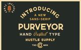 Purveyor - 8 Fonts Included Font