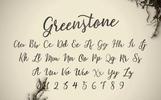 Greenstone Script Fonte №73251