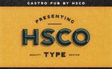 "Schriftart namens ""Gastro Pub - Type Family"""