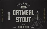 Oatmeal Stout - 5 Styles Font