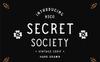 SECRET SOCIETY - A Vintage Serif Font Big Screenshot