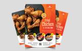 """Unternehmensidentität Vorlage namens """"Restaurant Flyer"""""""
