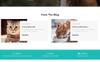 "PrestaShop Theme namens ""Woofdog Pet Store"" Großer Screenshot"