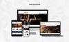 Tema de PrestaShop para Sitio de Fitness Captura de Pantalla Grande