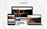 Tema de PrestaShop para Sitio de Fitness