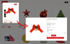 "OpenCart Vorlage namens ""Jingle Gift Store 3.x"" Großer Screenshot"