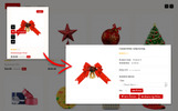 "OpenCart Vorlage namens ""Jingle Gift Store 3.x"""