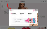 "PrestaShop Theme namens ""Bikini Swimwear Store"""