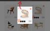 """OpenCart Vorlage namens """"Dora Furniture Shop"""" Großer Screenshot"""