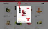 """Responzivní OpenCart šablona """"Veggies Grocery Store"""""""