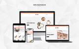 """Dora Furniture Shop"" thème PrestaShop adaptatif"