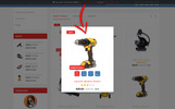 "OpenCart шаблон ""Pocket Multi-tools Store"""