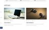 """iStore Electronics"" - адаптивний PrestaShop шаблон Великий скріншот"