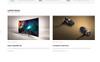 """Responzivní OpenCart šablona """"iStore - Electronic Shop"""" Velký screenshot"""