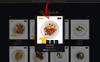 """Ymiez Food Store"" Responsive OpenCart Template Groot  Screenshot"