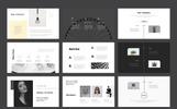 Szablon PowerPoint Black & White #79180