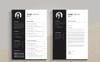 Clean & Creative Jane Smith Resume Template Big Screenshot