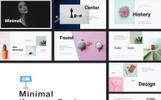 """Creative I Minimal"" Keynote Template"
