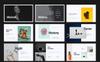 Creative I Minimal Keynote sablon Nagy méretű képernyőkép