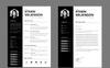 """""""Ethan Wilkinson Simple I Minimal"""" modèle de CV  Grande capture d'écran"""