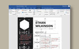 Ethan Wilkinson Simple I Minimal Resume Şablonu