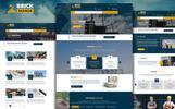 """PSD Vorlage namens """"BrickMania - Multipurpose Construction"""""""