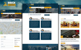 BrickMania - Multipurpose Construction PSD Template