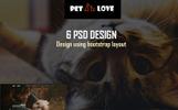 PetLove - Multipurpose PSD Template