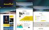 "Modello PSD #76193 ""TravelBud - Multipurpose Travel"" Screenshot grande"