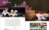 "PSD Vorlage namens ""Spa Paradise - Multipurpose Spa"" Großer Screenshot"