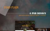 foodPlaza - Multipurpose Restaurant PSD Template