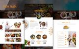 foodPlaza - Multipurpose Restaurant PSD sablon