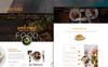 foodPlaza - Multipurpose Restaurant PSD sablon Nagy méretű képernyőkép