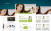 "PSD šablona ""treatHair - Multipurpose Hair clinic"" Velký screenshot"