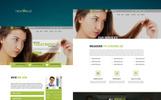 "PSD šablona ""treatHair - Multipurpose Hair clinic"""