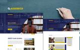 "PSD šablona ""Academica - Multipurpose School"""