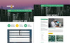 ScienceLab PSD Template Big Screenshot