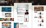 CraftArt PSD Template