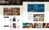 "Bootstrap PSD šablona ""CraftArt"" Velký screenshot"