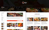 The Zayka - Restaurant PSD Template Big Screenshot
