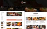 The Zayka - Restaurant PSD Template
