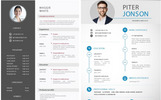 Top Selling Resume/CV Bundle: 10 Templates Bundle