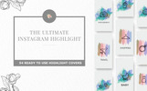 """Instagram Highlight"" 图标集模板"