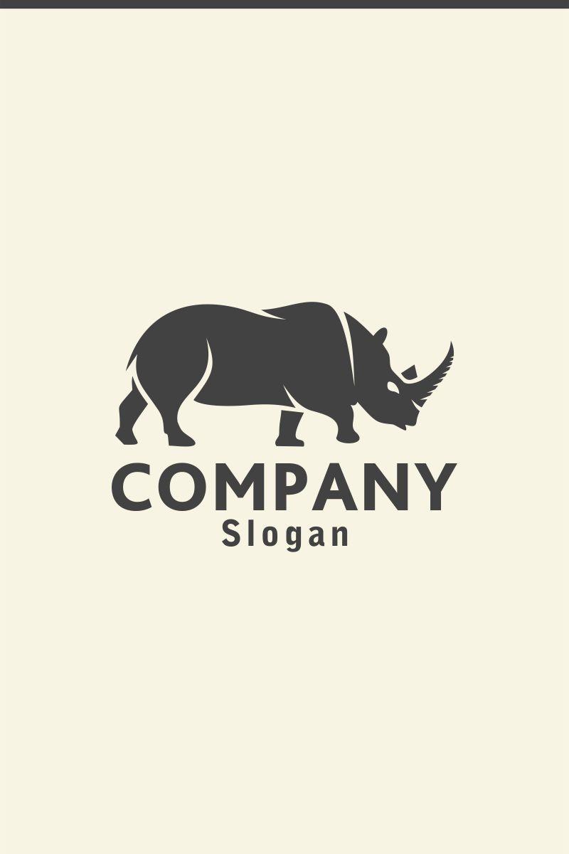 rhino logo template 73866