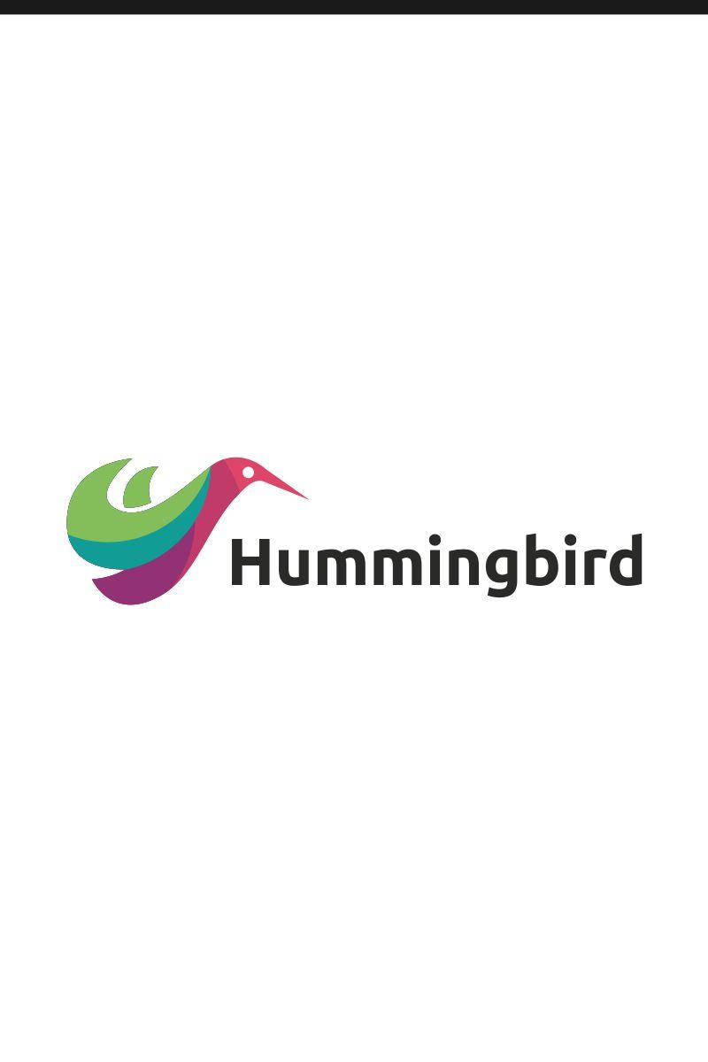hummingbird logo template 75060