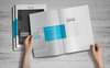 Company Profile Brochure Corporate Identity Template Big Screenshot