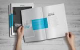 Company Profile Brochure Corporate Identity Template